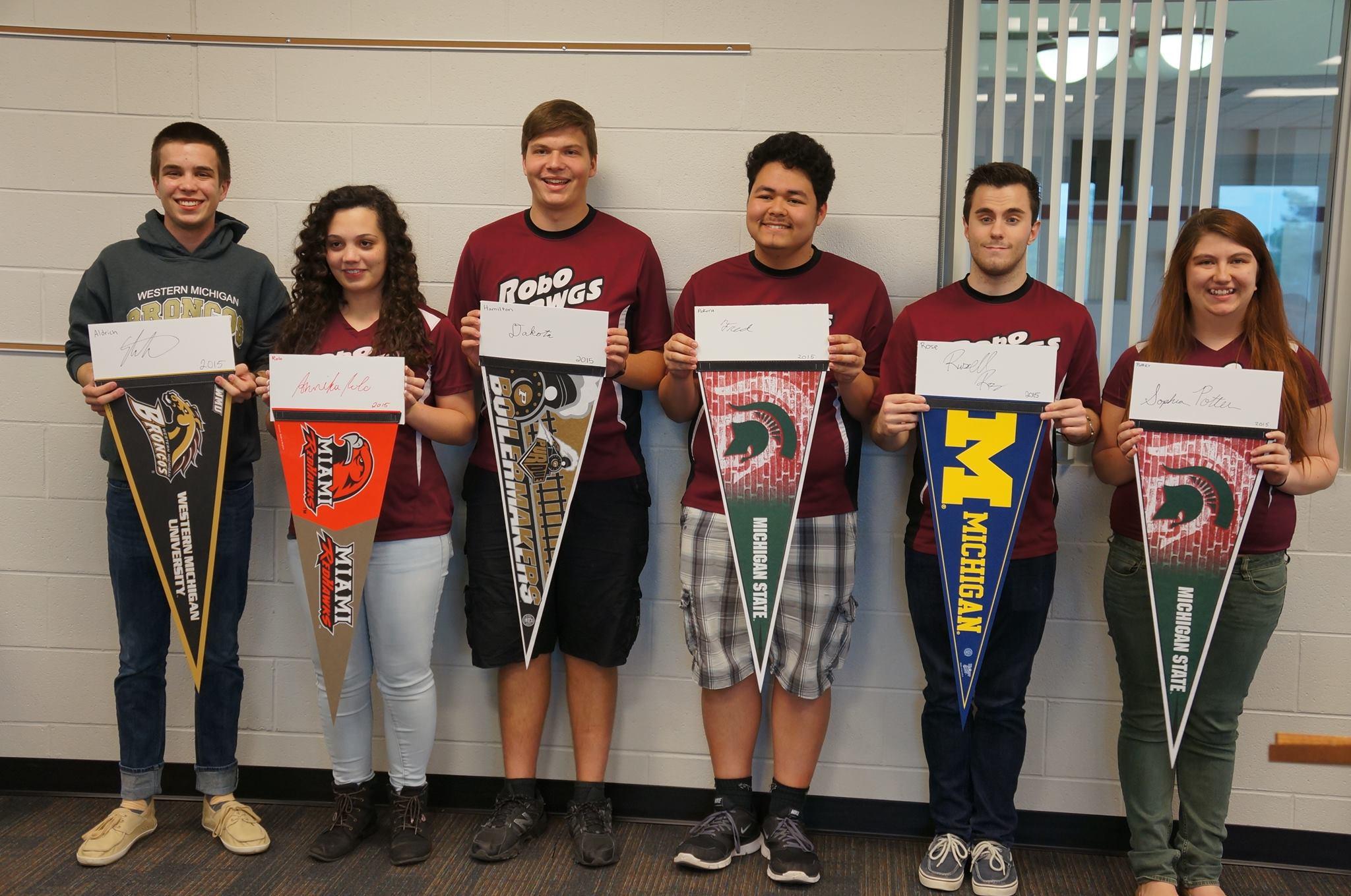 2015 GHS RoboDawg Graduates