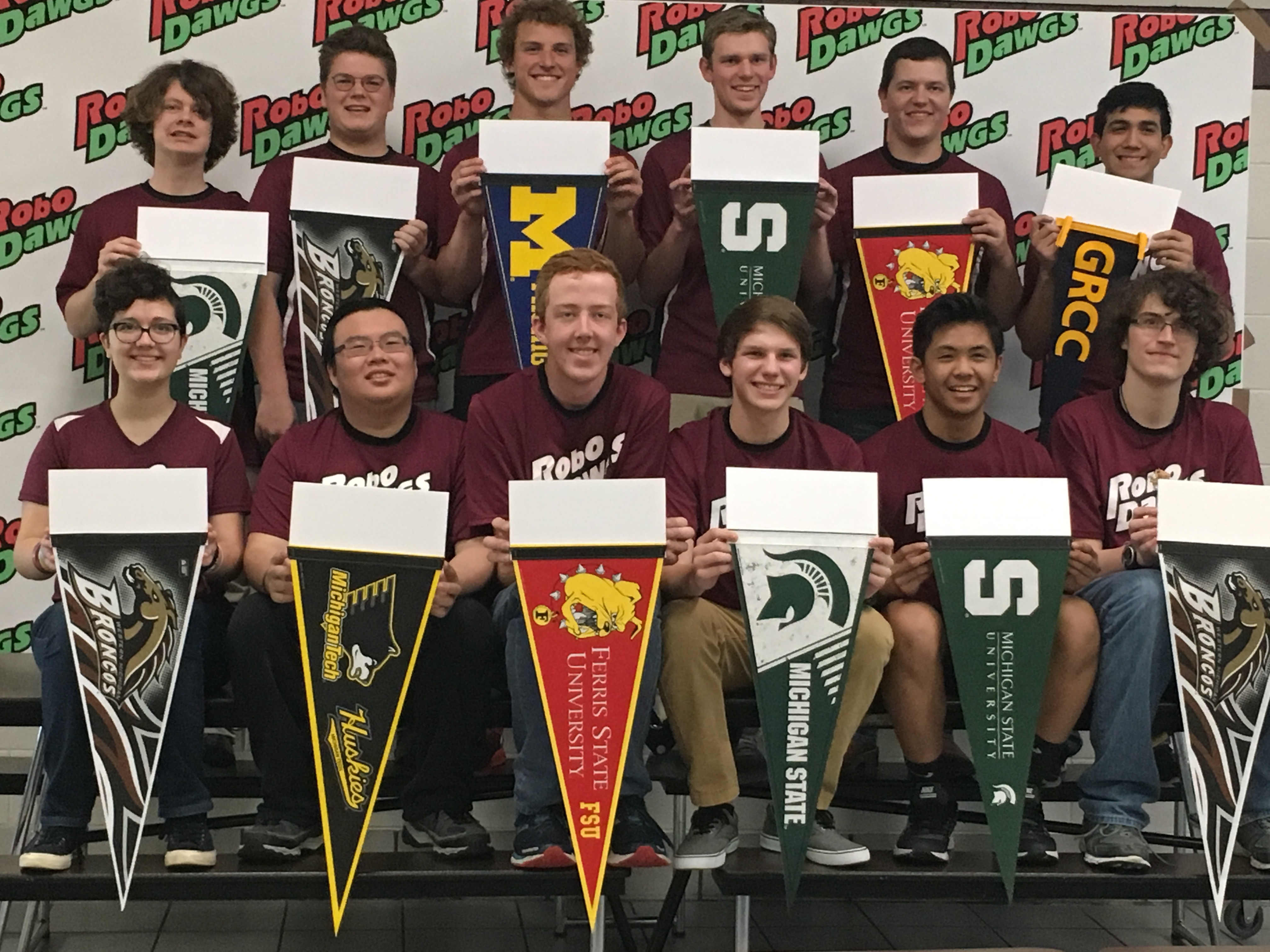 2017 GHS RoboDawg Graduates