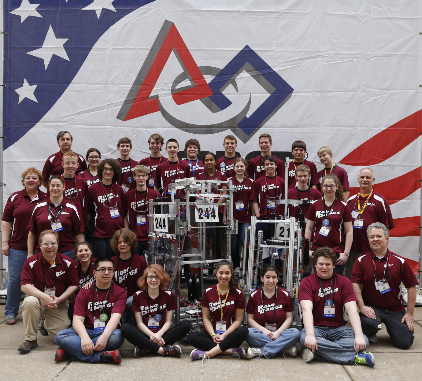 FRC Championship in St. Louis 2015.